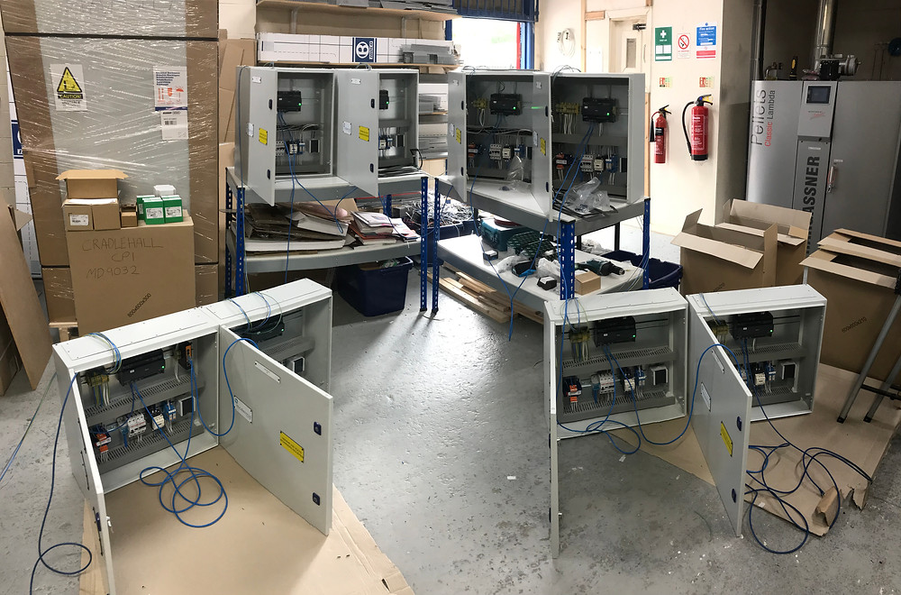 BMS Control Panels ready to ship