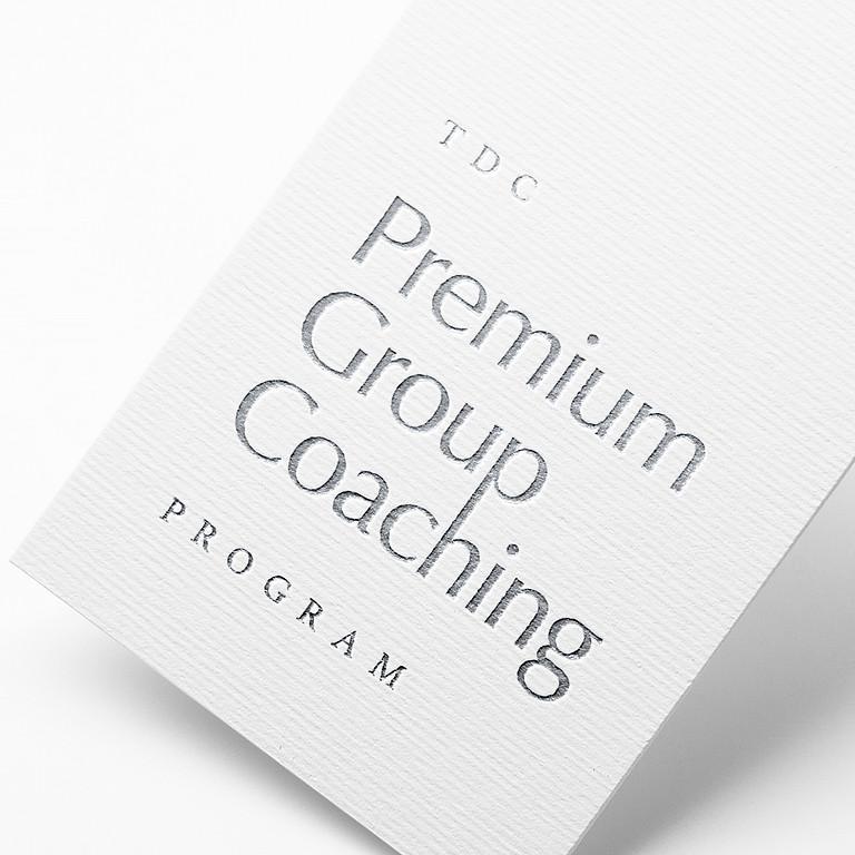 Premium Group Coaching Program - Group #1