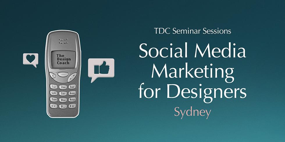 Social Media Marketing for Designers - Seminar Session Sydney
