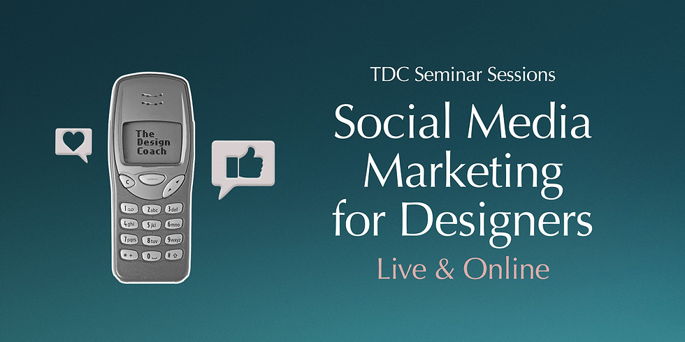 Social Media Marketing for Designers - Seminar Session