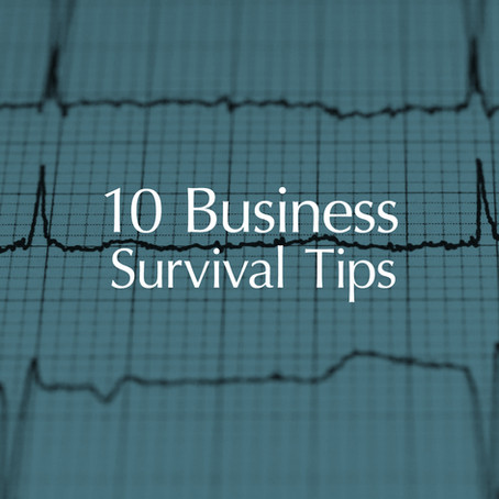 10 Business Survival Tips  Business Advice To Designers To Assist During An Economic Downturn