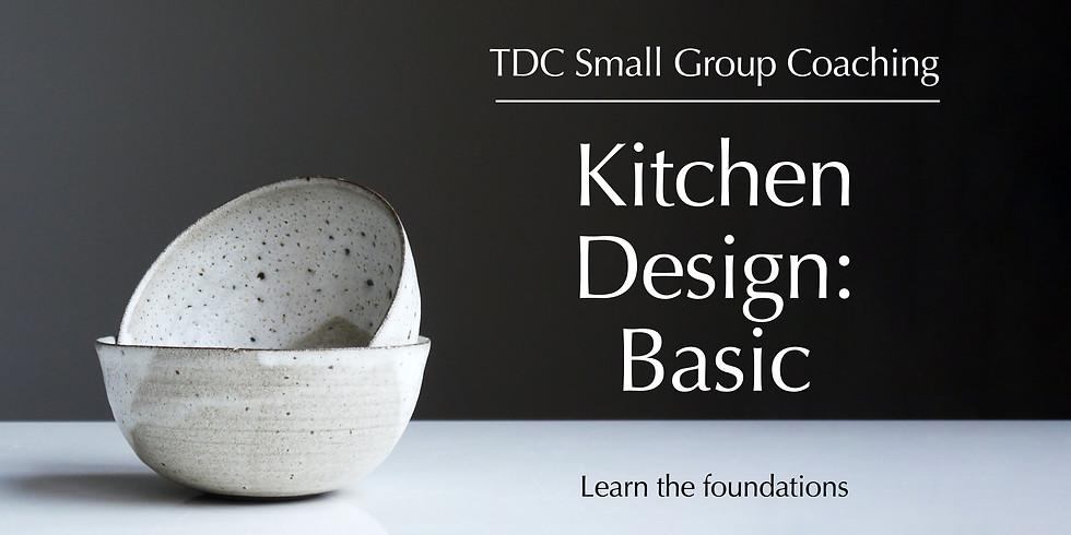 Kitchen Design : Basic - Small Group Coaching
