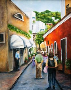 People Watching in Capri
