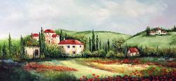 Tuscan Cypress & Poppy