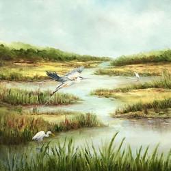 Marsh Visitors