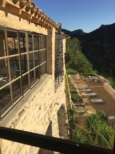 les terrasses sont prêtes