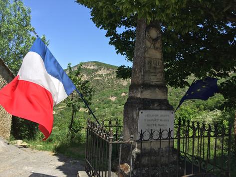 8 mai, commémoration, monument aux morts de Montaulieu