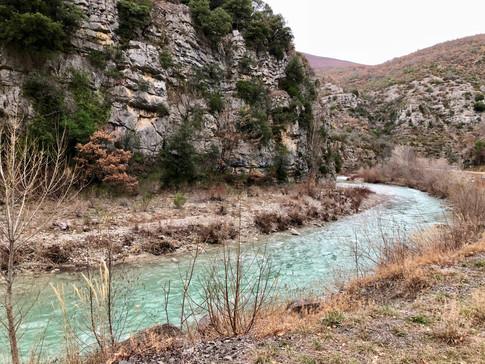 L'Aygues près de Villeperdrix