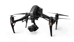 UAV photo of a DJI Inspire 2 used for Drone service in Edmonton & Calgary Alberta, Canada