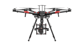 DJI Matrice 600 used for drone services and video in Edmonton and Calgary, Alberta, BC, British Columbia, Canada