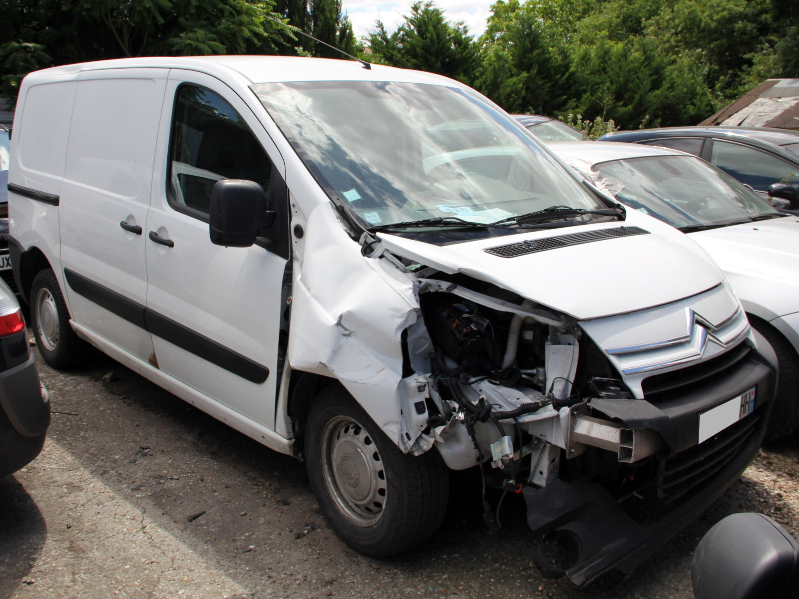 Citroen Jumpy accidenté RSV/ VEI