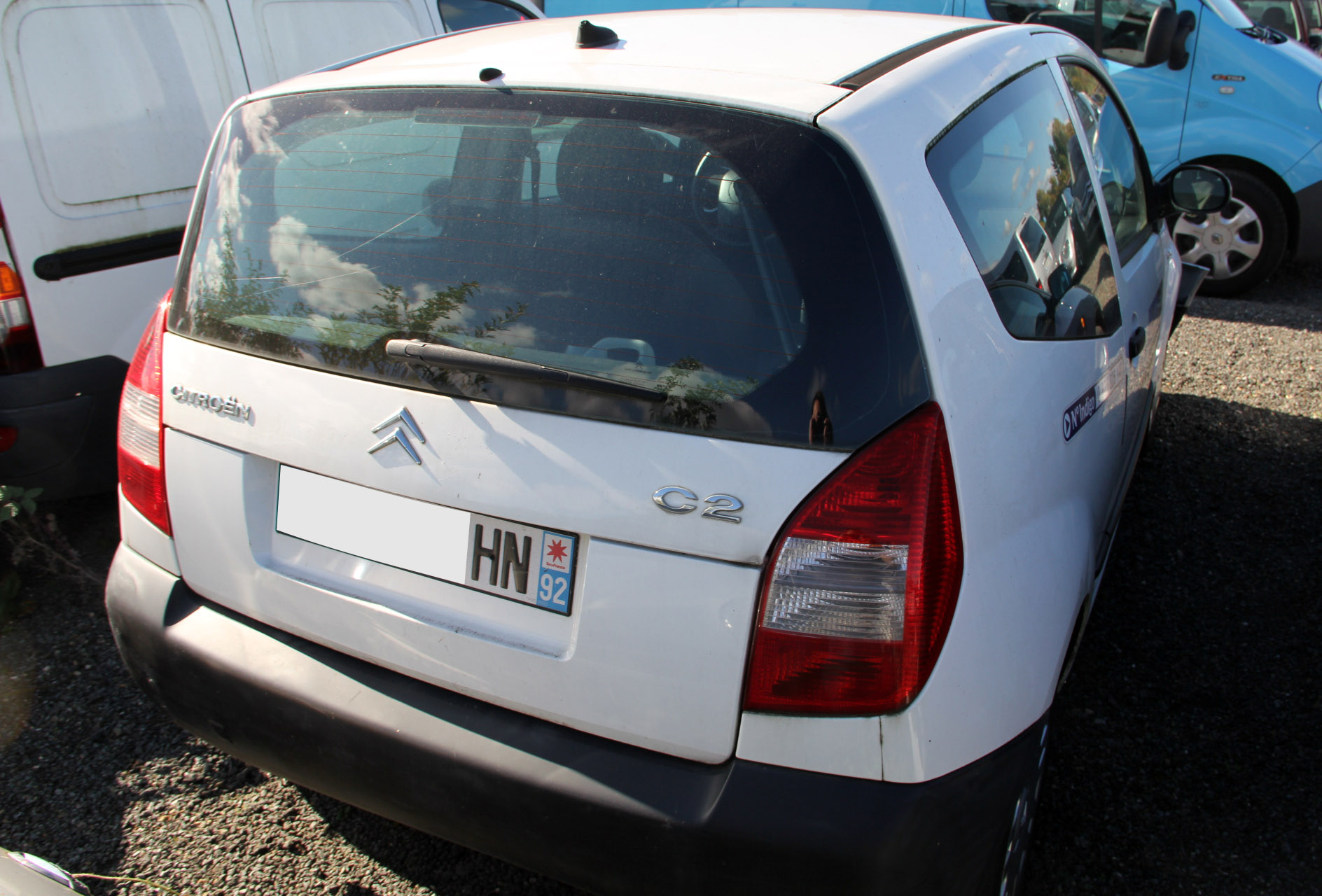 Citroën C2 1.4 HDi accidentée