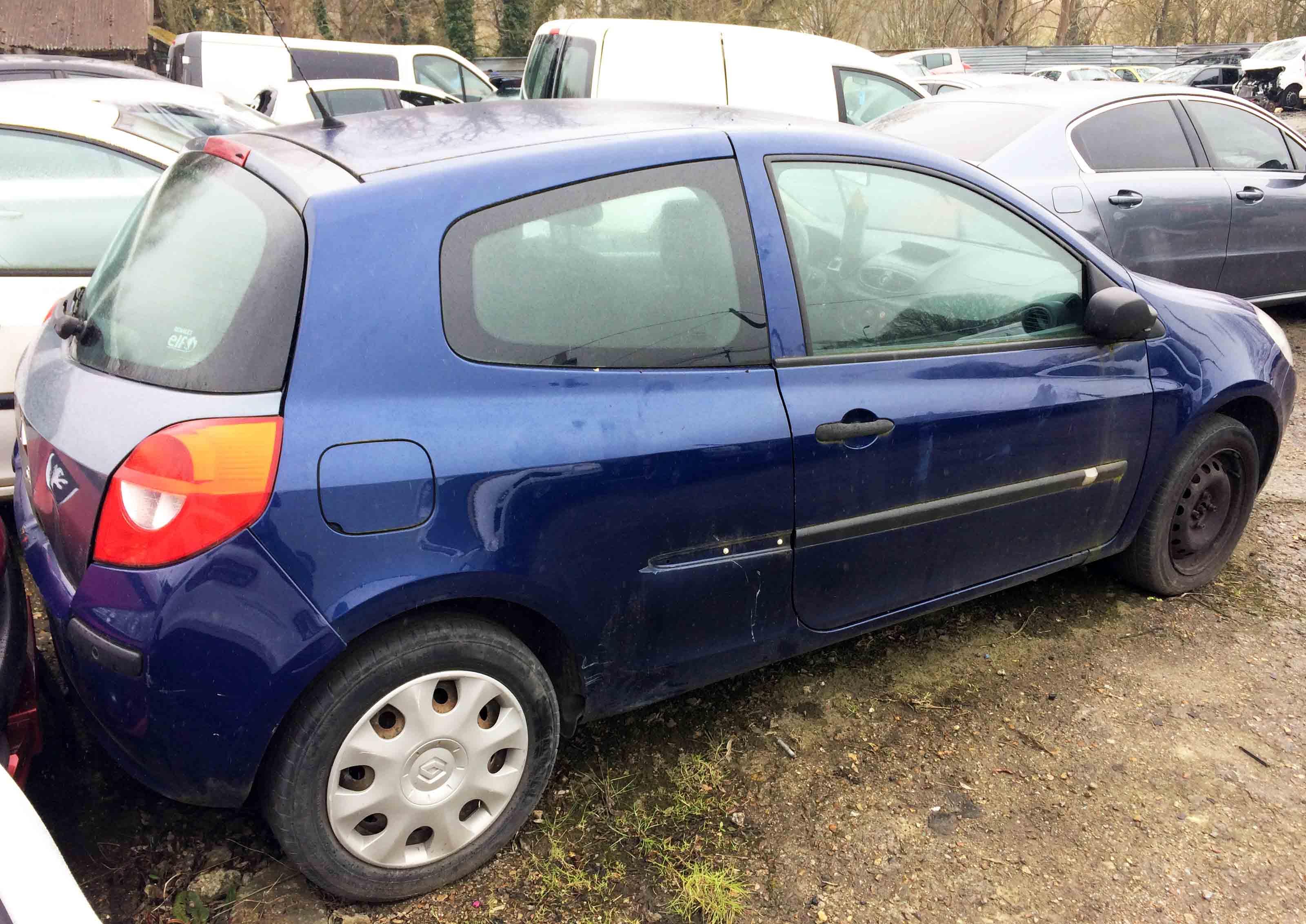 Renault Clio 1.5DCI 70 A accidentée
