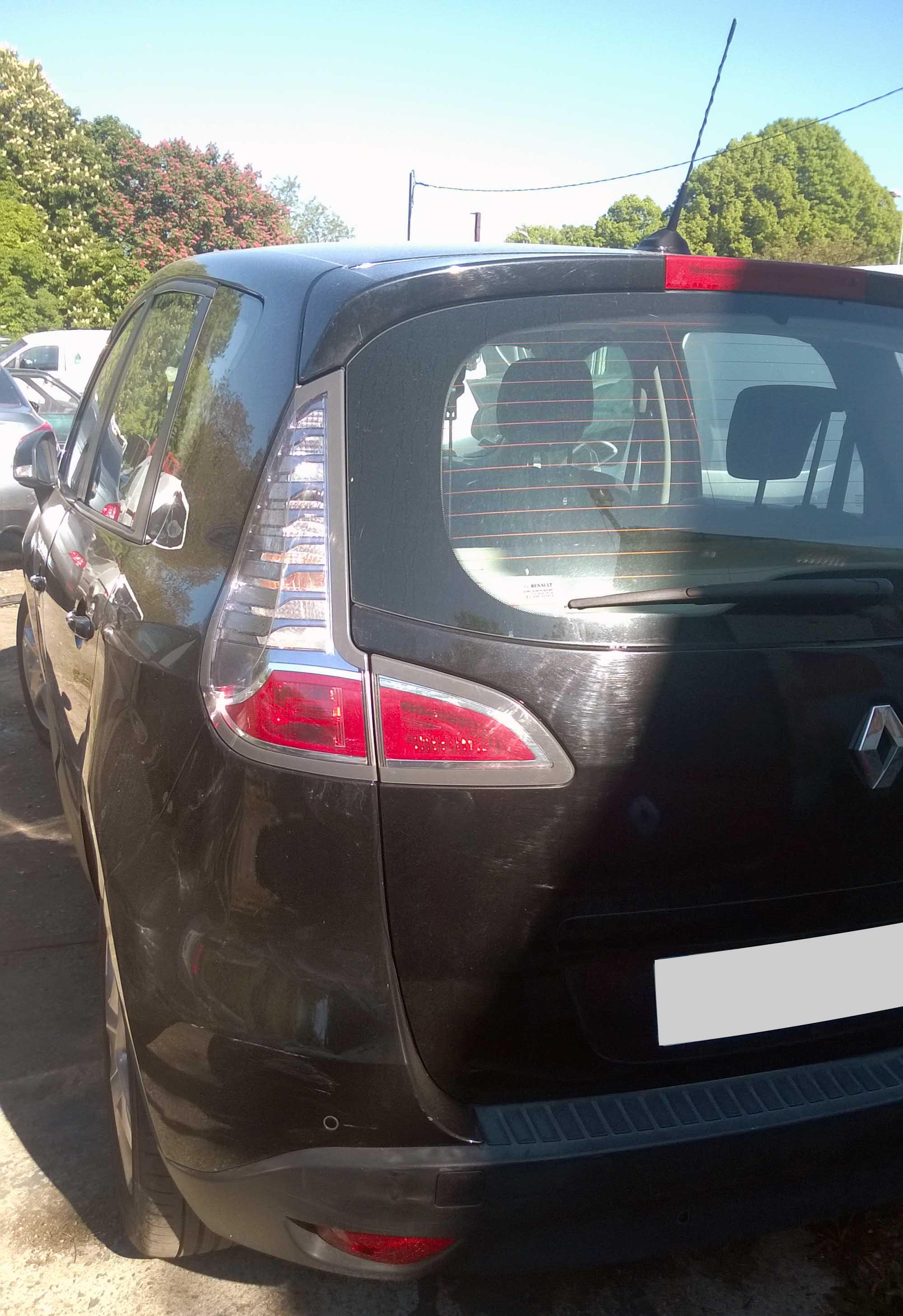 Renault Scénic accidenté RSV/ VEI