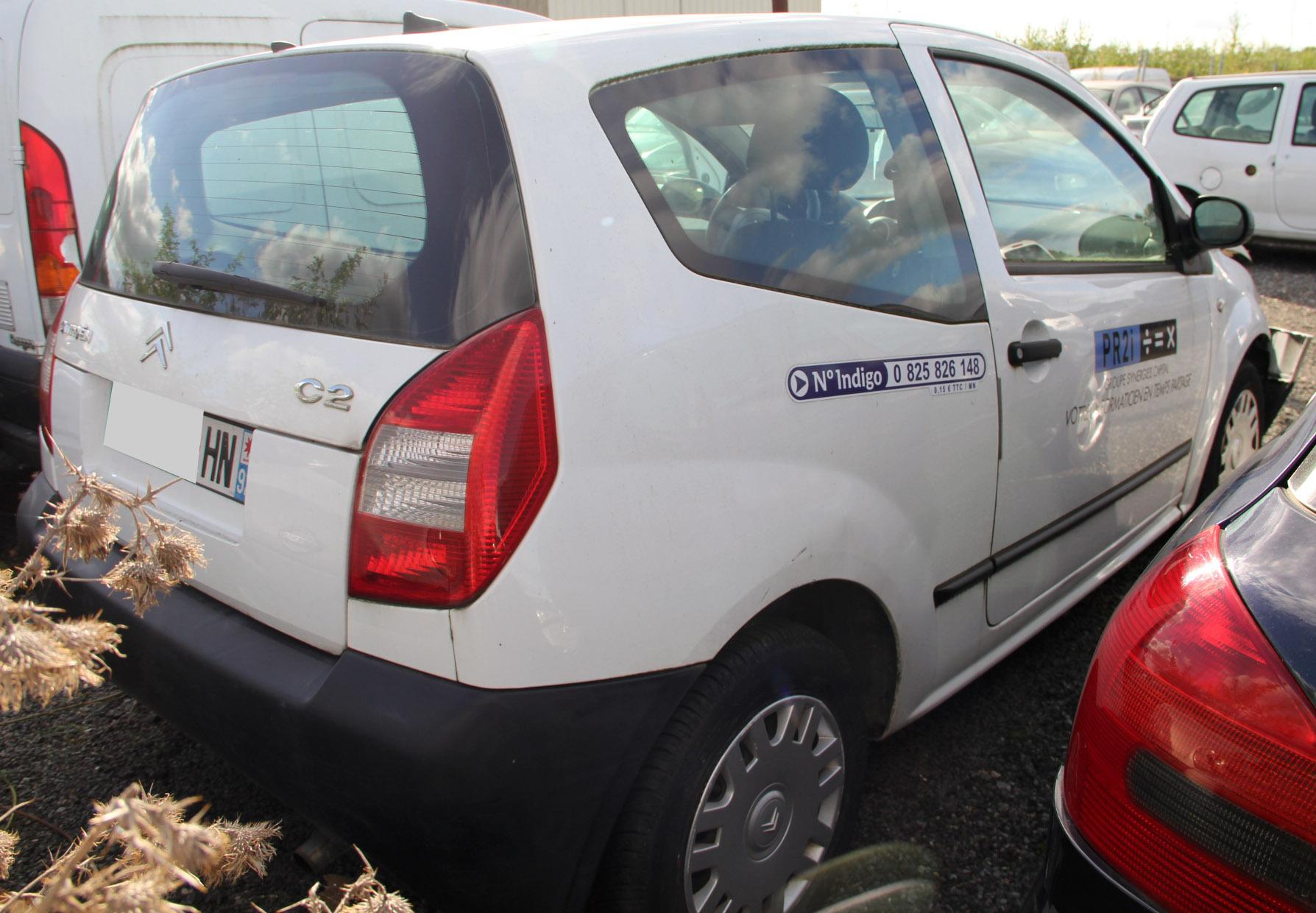Citroën C2 1.4 HDi accidentée