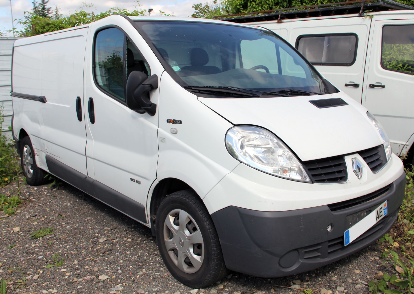 Renault Trafic accidenté RSV/ VEI