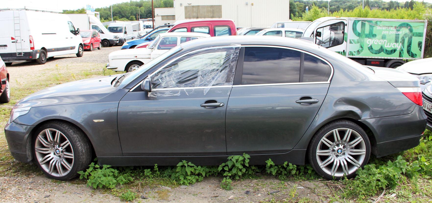 BMW SERIE 530 accidentée RSV/ VEI