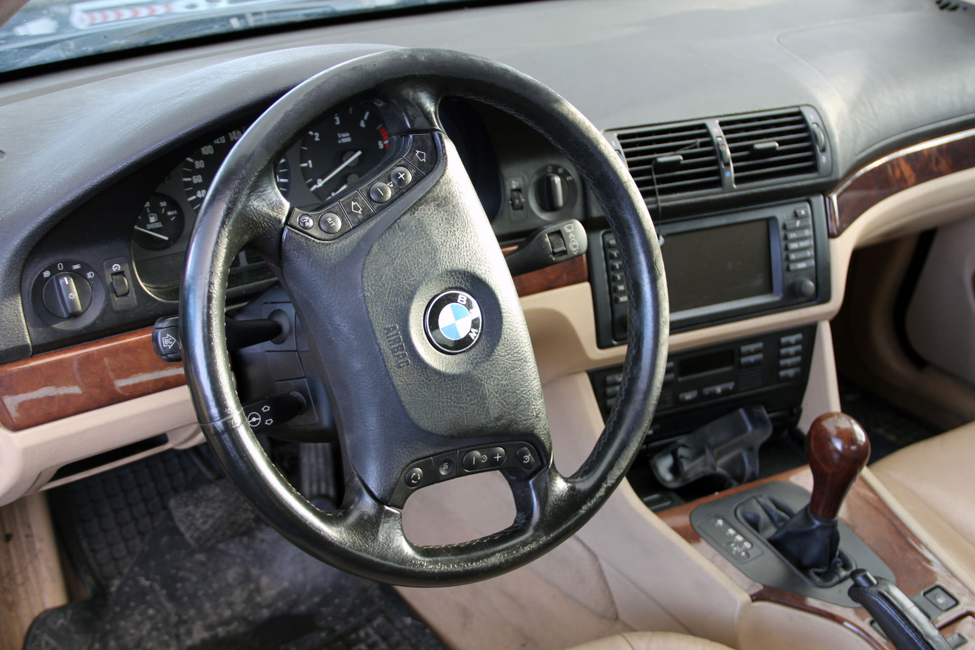 BMW 530 D PACK LUXE PRÉF accidentée