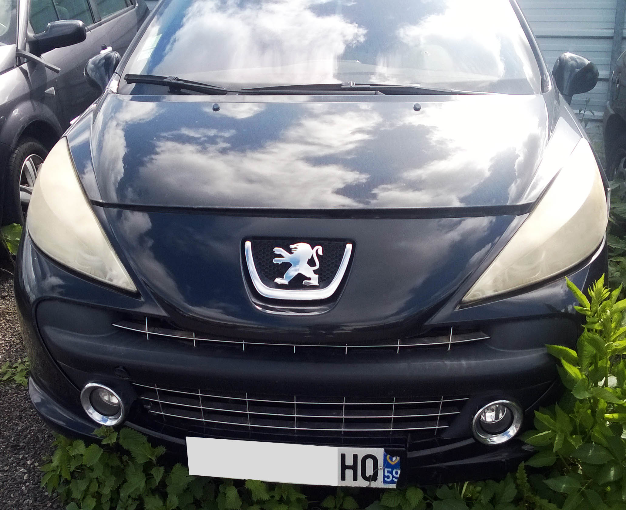Peugeot 207 1.6 accidentée RSV/ VEI