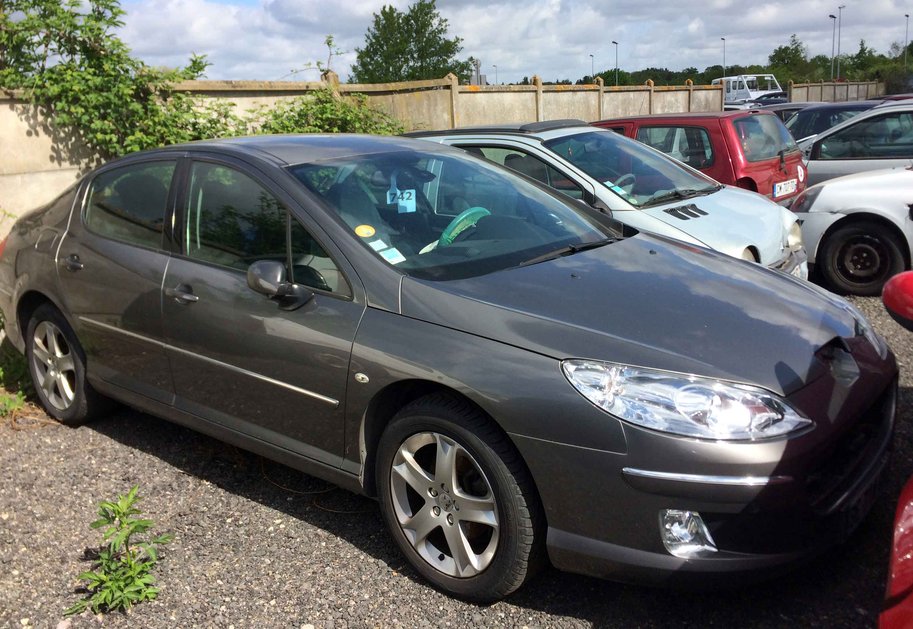 PEUGEOT 407 2.0HDI accidentée