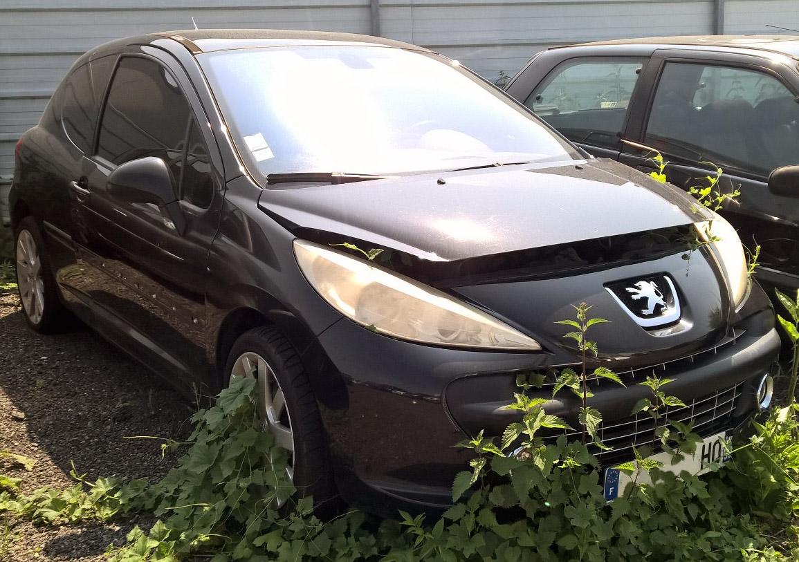 Peugeot 207 1.6 accidentée RSV/ VEI