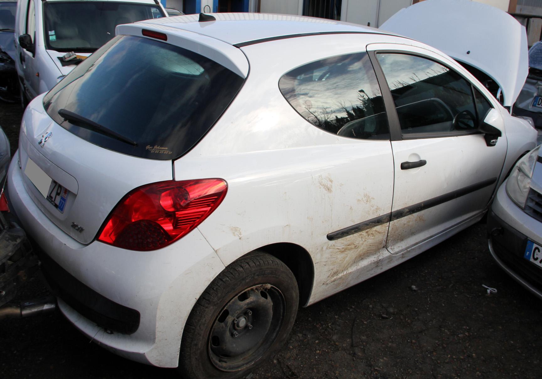Peugeot 207 1.4 hdi 70 accidentée