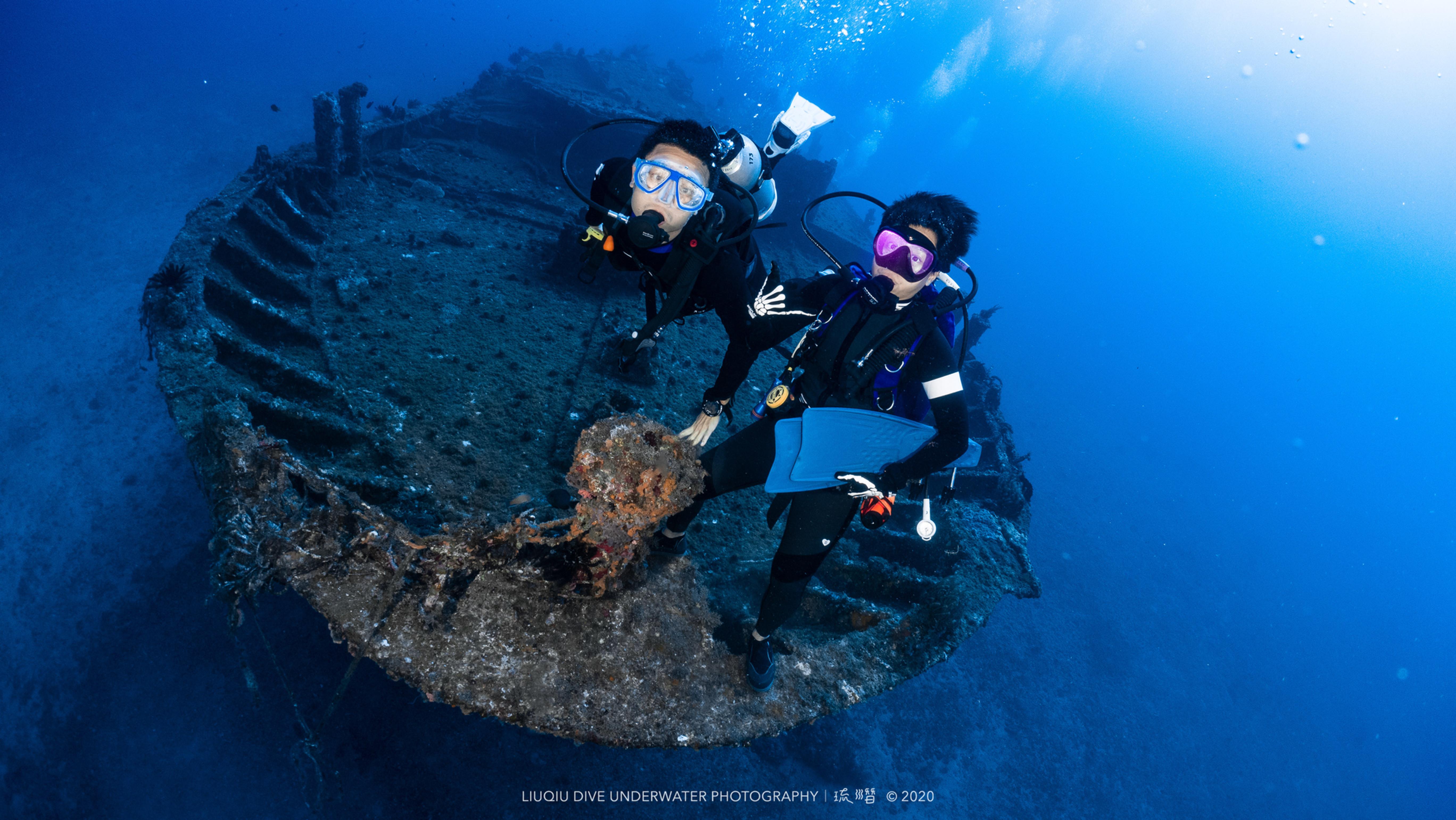 AOW進階開放水域潛水員(兩天一夜)