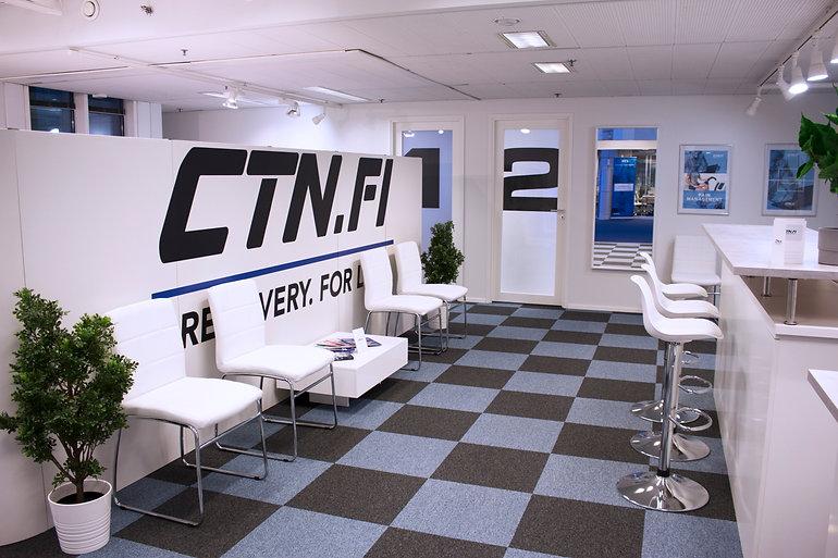 CTN Recovery klinikan vastaanotto
