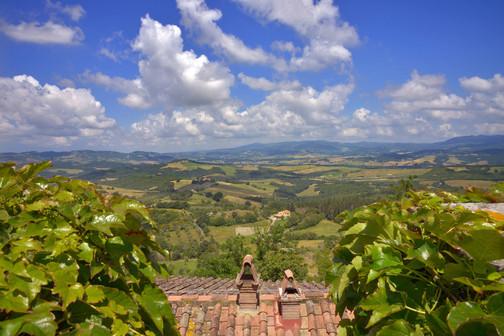 Casa Bartoli, la vista