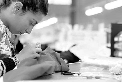 Made in Italy fashion production