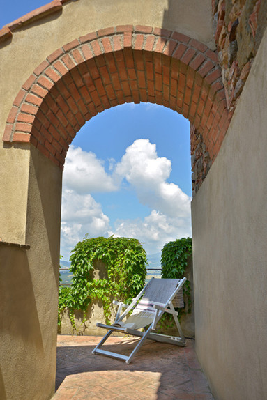 Casa Bartoli, la terrazza