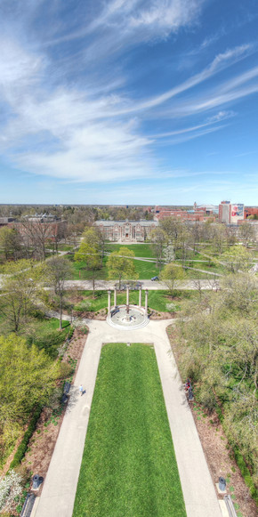 Ball State - Campus Pano #2