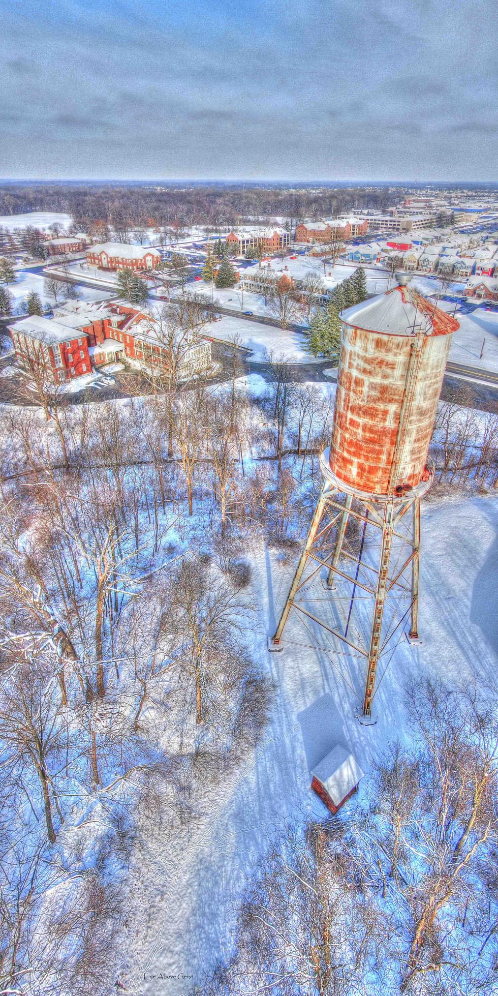 Winter Water Tower (Ft Ben)