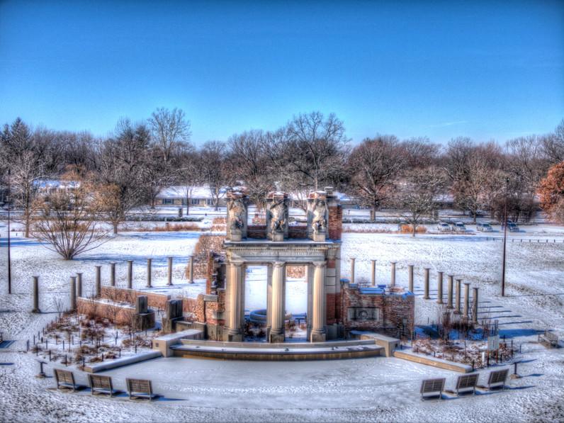 The Ruins at Holliday Park
