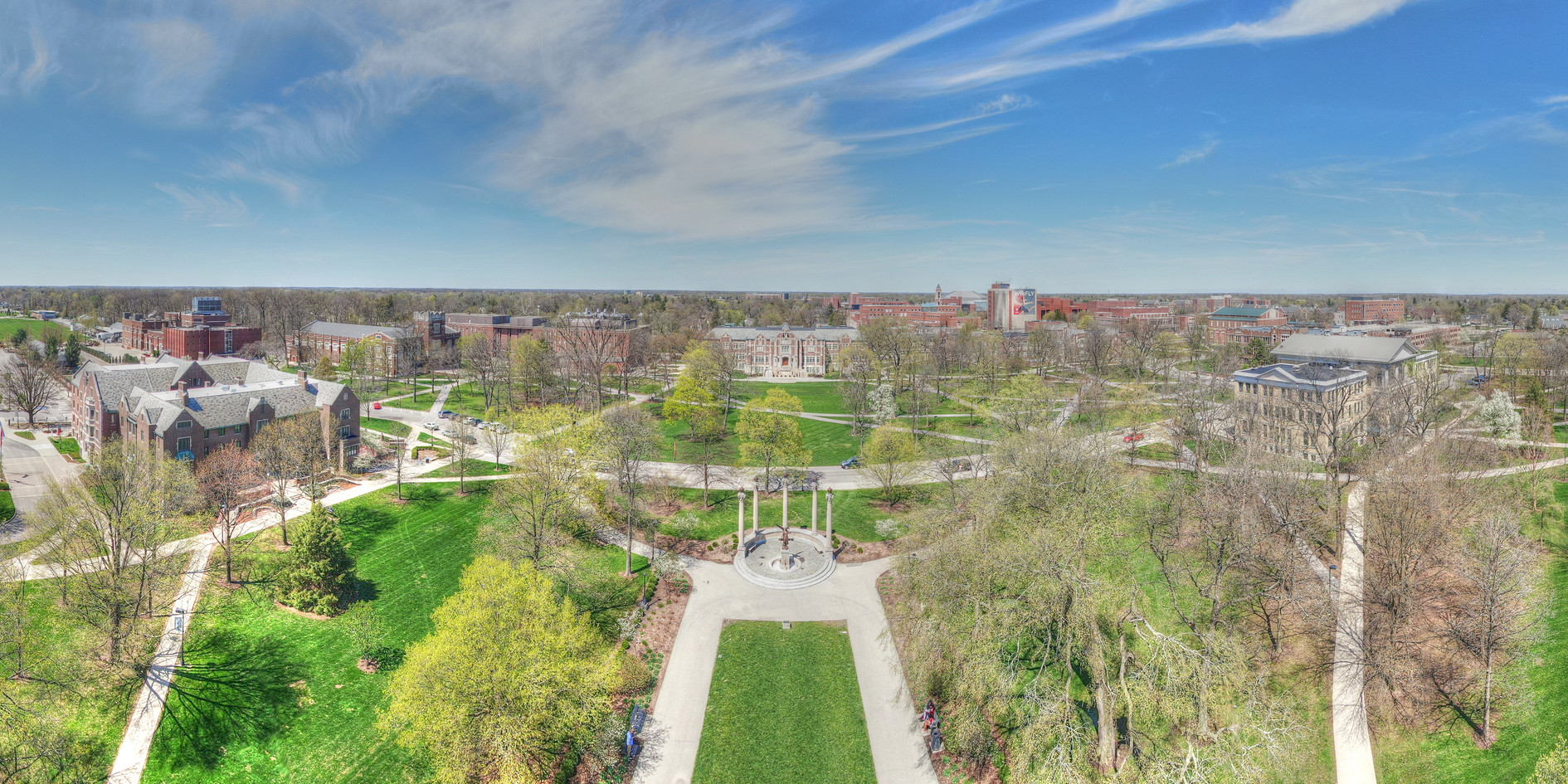 Ball State - Campus Pano #1