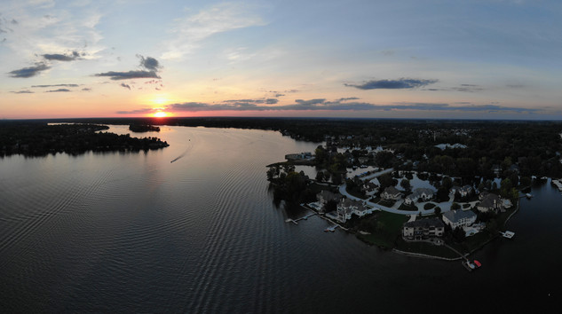 Sunset Over Bridgewater (Geist)