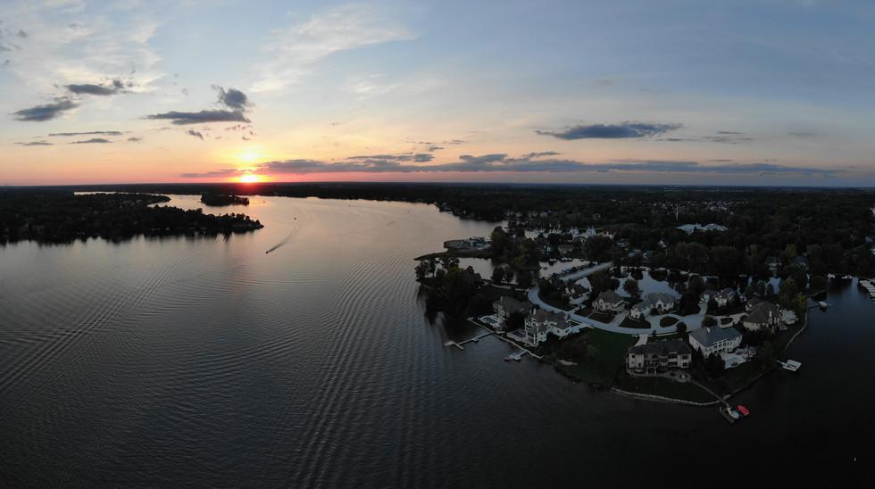 Sunset Over Bridgewater (Geist)