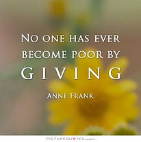 no-one-has-ever-become-poor-by-giving-qu