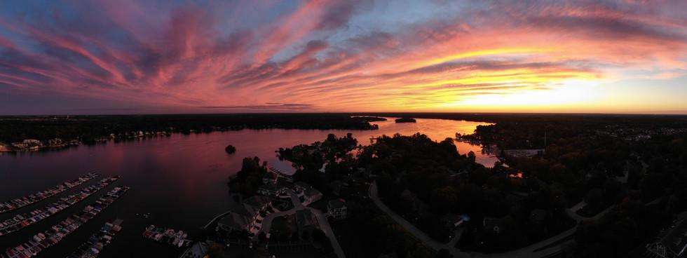 Sunset Over Geist