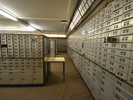 Is a safe deposit box the safest place for my documents?