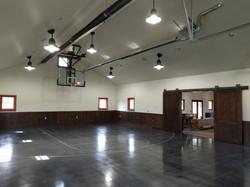 Cabin Basket ball Court