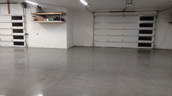 Custom Polish Concrete Garage