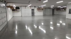 Modern Polish Concrete Garage