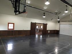 Indoor Concrete Basketball
