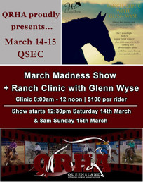 March Madness + Ranch Clinic with Glenn Wyse