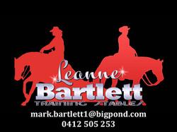 Bartlett training Stables
