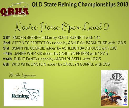Class 7D. Novice Horse Open Level 2