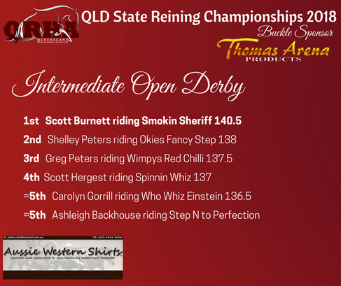 Class 13e. Intermediate Open Derby