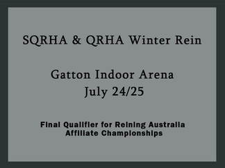 SQRHA & QRHA Joint Show