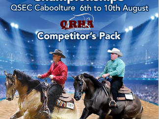 2019 QLD State Reining Championships
